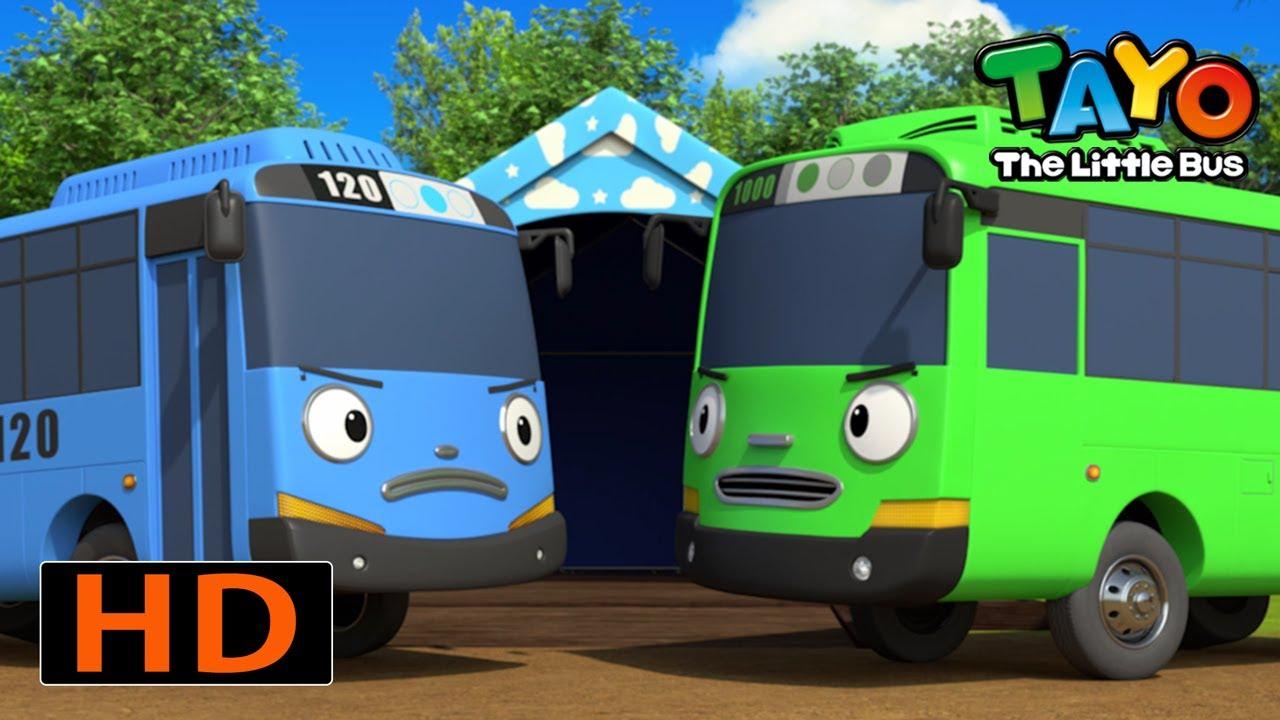 Tayo Español Especial episodios l ¡Día de campamento con pequeños autobuses! l Tayo Serie 5