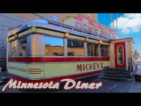 MICKEY'S DINER! SAINT PAUL MINNESOTA! - Classic American Diner!