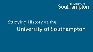 History at the University of Southampton