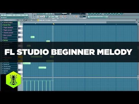 FL Studio Beginner Melody Tutorial