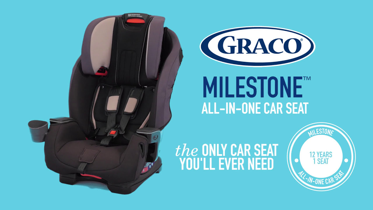 GracoR MilestoneTM All In One Car Seat