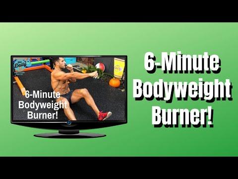 🔥6-MINUTE BODYWEIGHT BURNER! | BJ Gaddour Bodyweight Workout