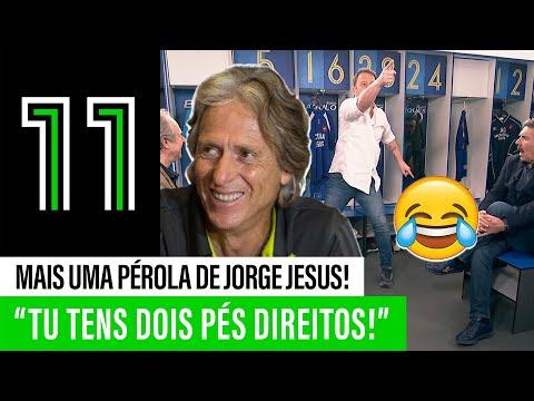 Para rir: o treino HILARIANTE de Jorge Jesus no Belenenses!