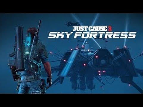 ジャストコーズ3 追加DLC第1弾  Sky Fortress