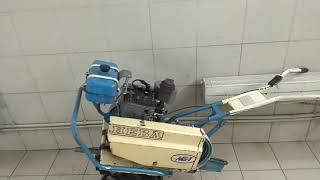 мотоблок Нева МБ 1 с двигателем ДМ 1.  Ремонт и регулировка центробежного регулятора оборотов