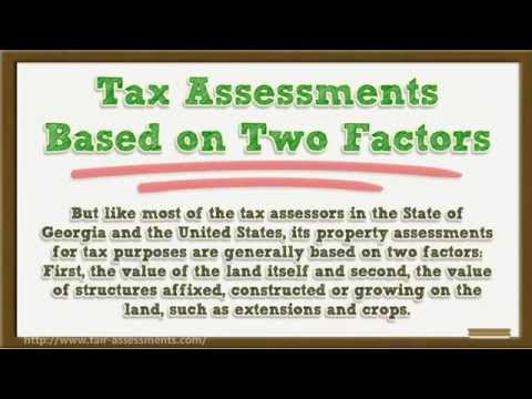 Property Tax Assessment and the Fulton County Tax Assessors 101 Atlanta, Georgia 404-618-0355