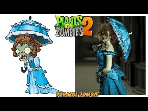 Plants vs Zombies - PVZ 2 Zombies Characters  in Real Life