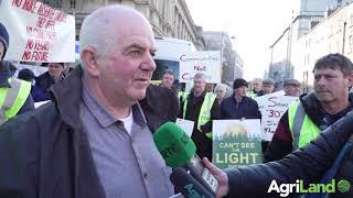 Save Leitrim protests outside Dail Eireann