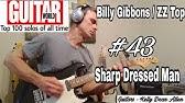 Easy Guitar Lesson Sharp Dressed Man Zz Top Guitar Tab Youtube