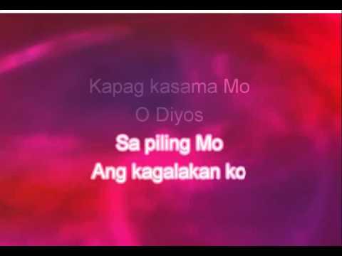 Napakabuti Mo/Aming Diyos Ama (Instrumental Minus One Karaoke Version)
