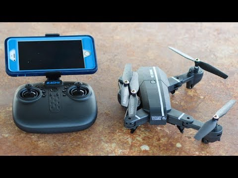 Best $50 Camera Drone with Folding Arms 2017 - 8807HD-G - TheRcSaylors