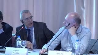 """Дискуссия на сессии """"Инновационные технологии в комбинированном лечении опухолей головы и шеи"""""""