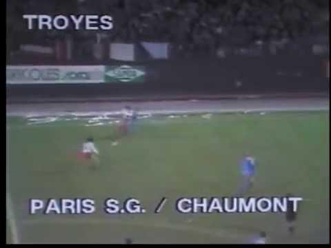 PSG - Chaumont 1982-83, résumé