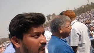 Sachin Shinde Mumbai rally