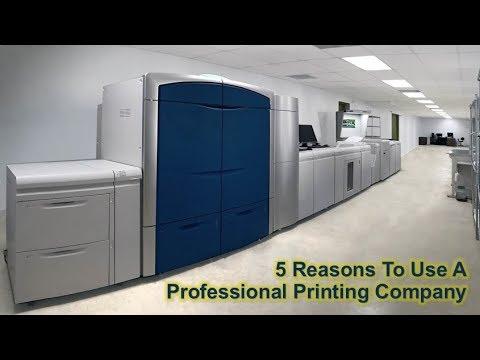 5 Reasons To Use A Professional Printing Company - PrintMENA In Dubai