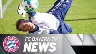 First training session for Neuer - Alaba: The team is happy