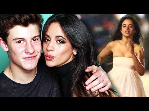 Camila Cabello Wears Wedding Dress As Shawn Mendes Says He's So Happy