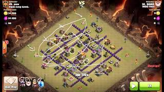 Strategi Serangan Naga Clan War Clash Of Clans 3 Star | Bahasa Indonesia