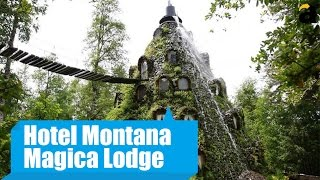 видео Montana Magica Lodge – отель-вулкан в Чили