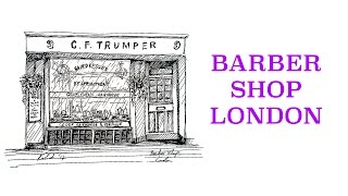 #4 - How to draw a barber shop, London