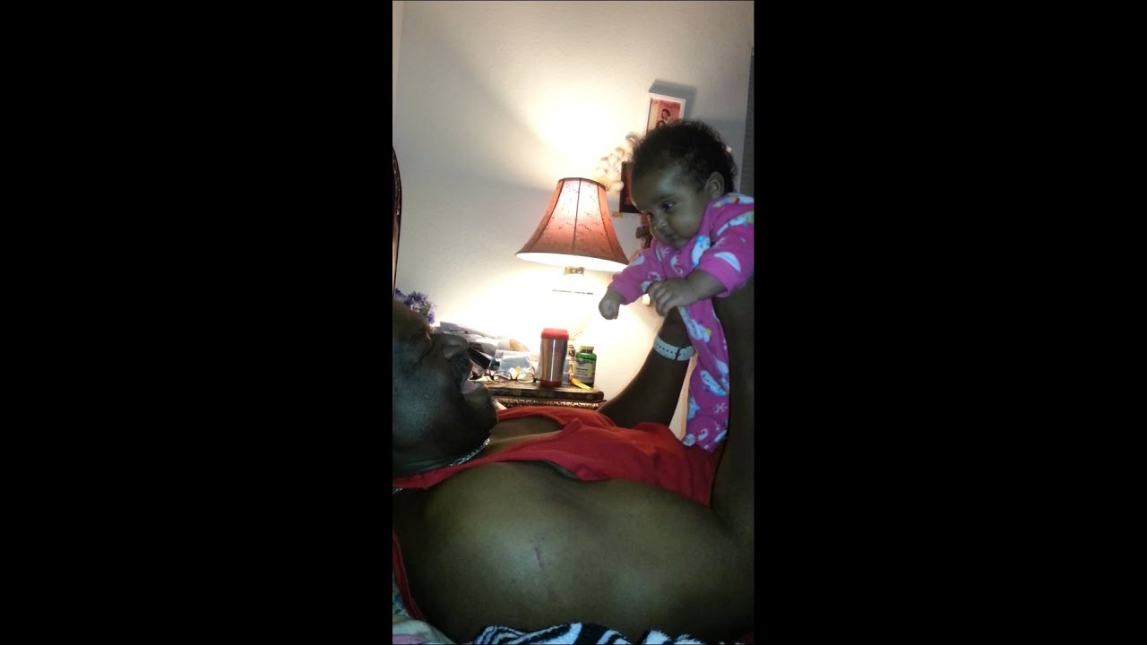 3 Month Old Baby Girl Growls Like Daddy