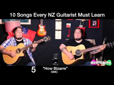 10 Songs Every New Zealand Guitarist Must Learn!