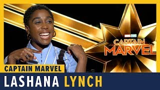 Lashana Lynch Talks 'Captain Marvel'
