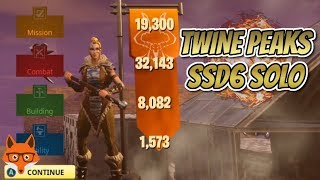 twine Peaks SSD6 Solo Defence  Fortnite Save The World (STW)