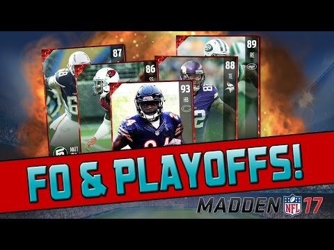 Football Outsiders & Playoffs Content Soon! | Madden 17 Ultimate Team - Pack Opening