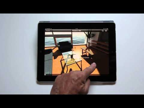 iVisit 3D on iPad