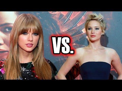 Taylor Swift VS Jennifer Lawrence: Sexiest Dress?