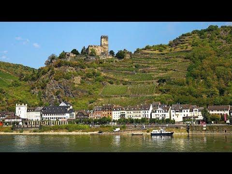 Rhine River Valley (Koblenz to Rudesheim), Germany in 4K Ultra HD