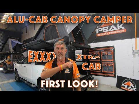 Peak Offroad Equipment - Alu-Cab Canopy Camper *Extra Cab*