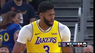 Showtime Lakers is Back! vs Golden State Warriors | 2019 Preseason | All About Ball