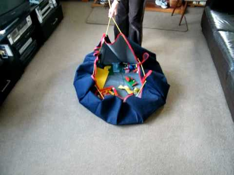 Playmat And Drawstring Storage Bag All In One Youtube