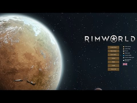 RimWorld Full Game Time-Lapse Video