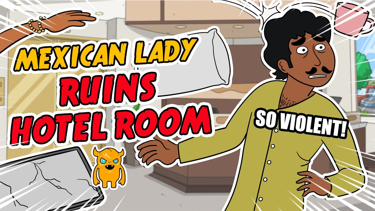 Mexican Lady RUINS Hotel Room