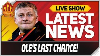Solskjaer's Final Warning! Man Utd News Now