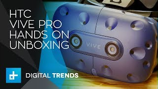 HTC Vive Pro - Hands On Unboxing