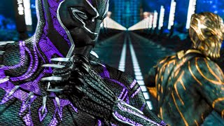 BLACK PANTHER 'Hyperloop Fight Scene' Movie Clip + Trailer (2018)
