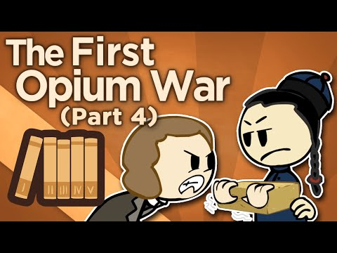 First Opium War - IV: Conflagration and Surrender - Extra History