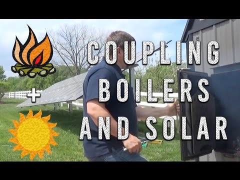 Coupling Boilers and Solar + Free Giveaway