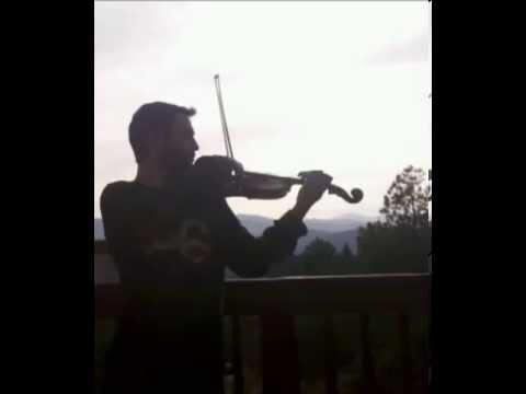 Eitan Silkoff plays Jean Sibelius Violin Concerto movement 1