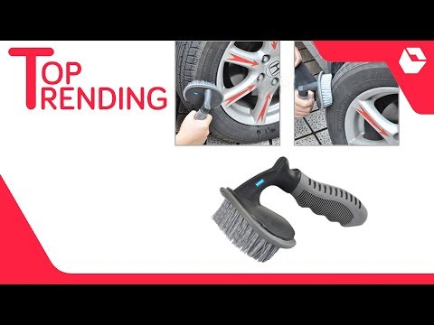 Tire Rim Scrub Brush | Best Selling Cleaning Items