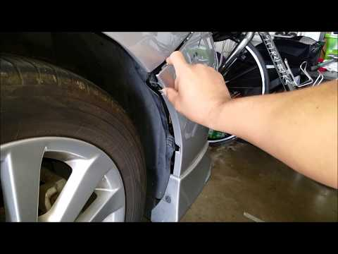 DIY – how to fix front bumper – Car bumper repair – Repair Loose bumper – save $$$$
