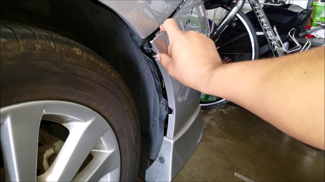 diy how to fix front bumper car bumper repair repair. Black Bedroom Furniture Sets. Home Design Ideas