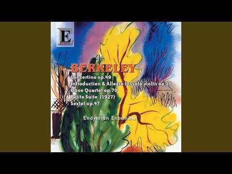 Concertino Op. 49: Ii. Aria Lento