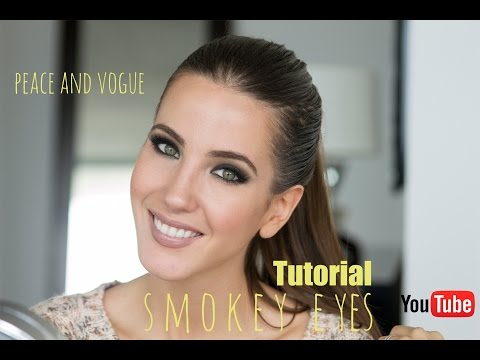 Tutorial Smokey Eyes o Ojos Ahumados | Peace and Vogue thumbnail