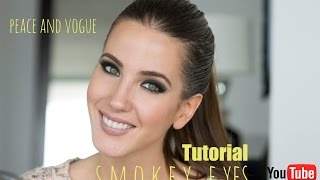 Smokey Eyes o Ojos Ahumados Tutorial ... By Jessica Barboza