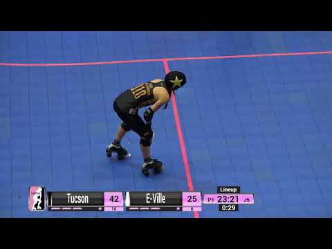 WFTDA Roller Derby - Division 2, Pittsburgh - Game 6 - Tucson vs. E-Ville
